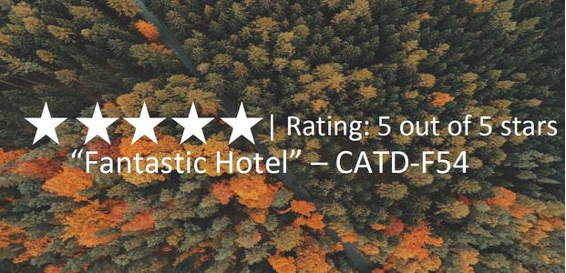 Trees with tripadvisor review and link