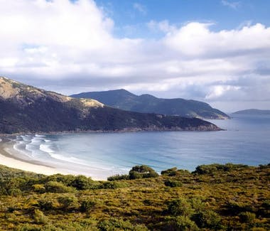 Views to Wilsons Promontory