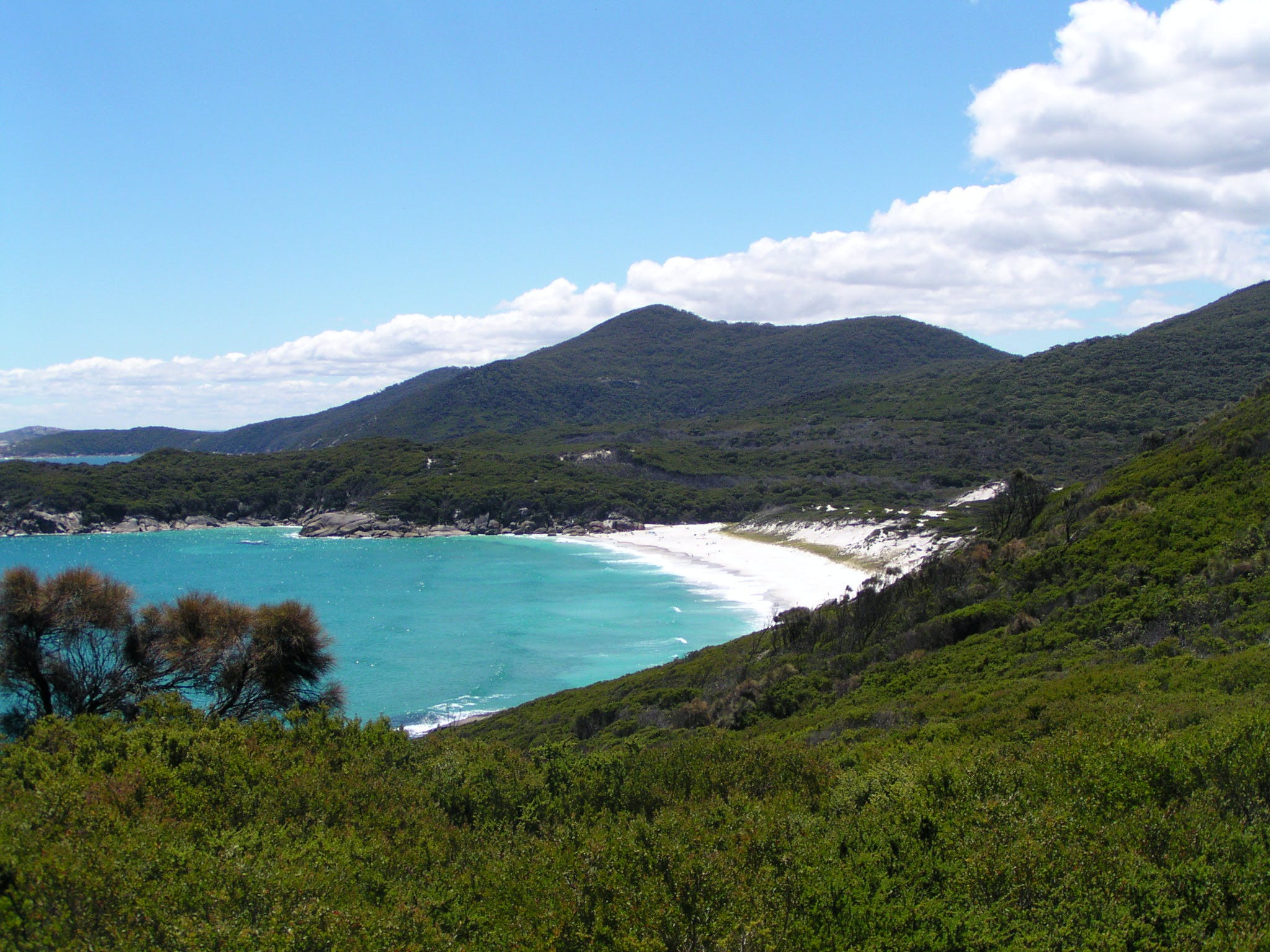 Wilsons Promontory view from hilltop