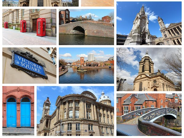 In & around Birmingham landmarks