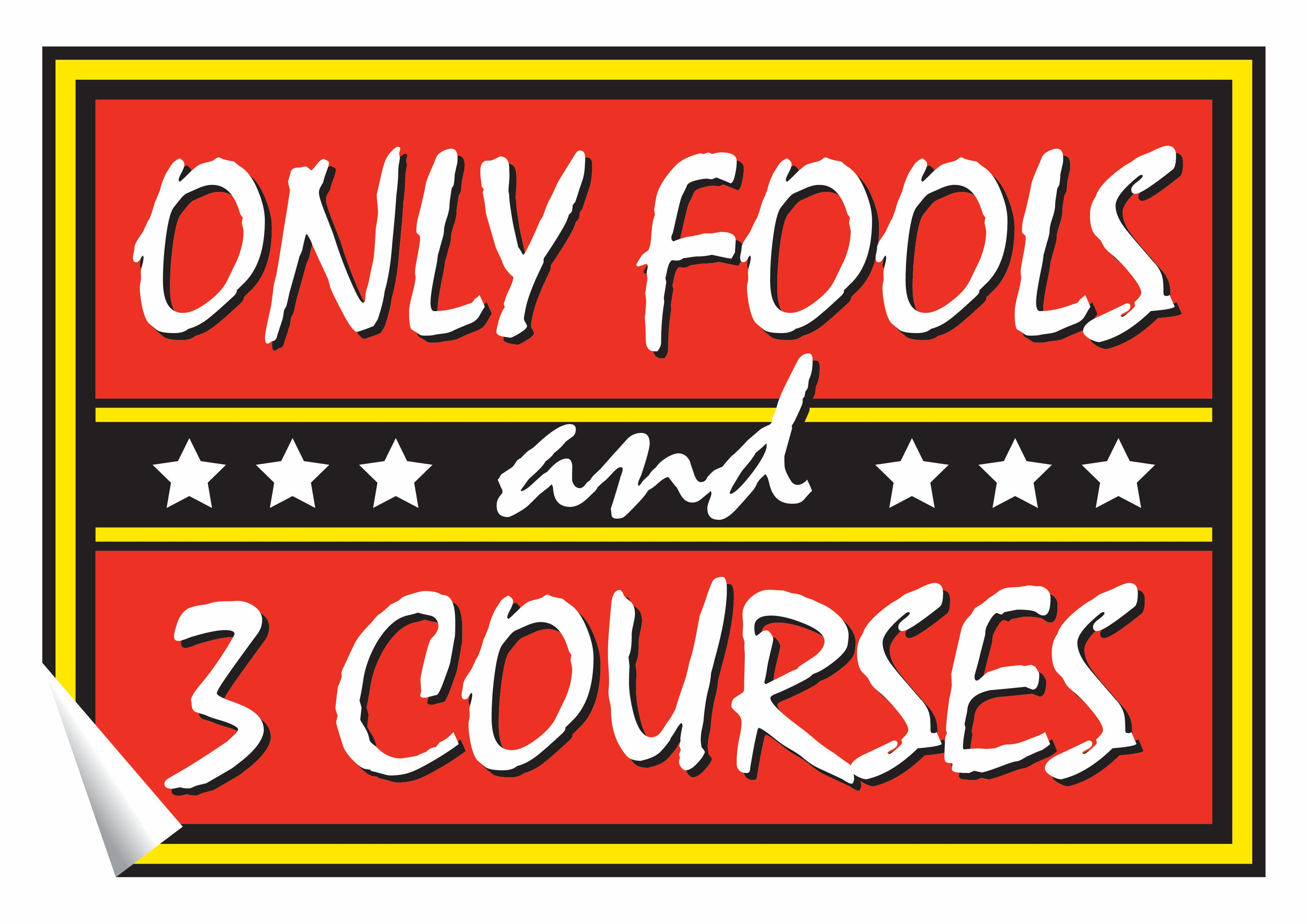 Only Fools & 3 Courses Dining Event