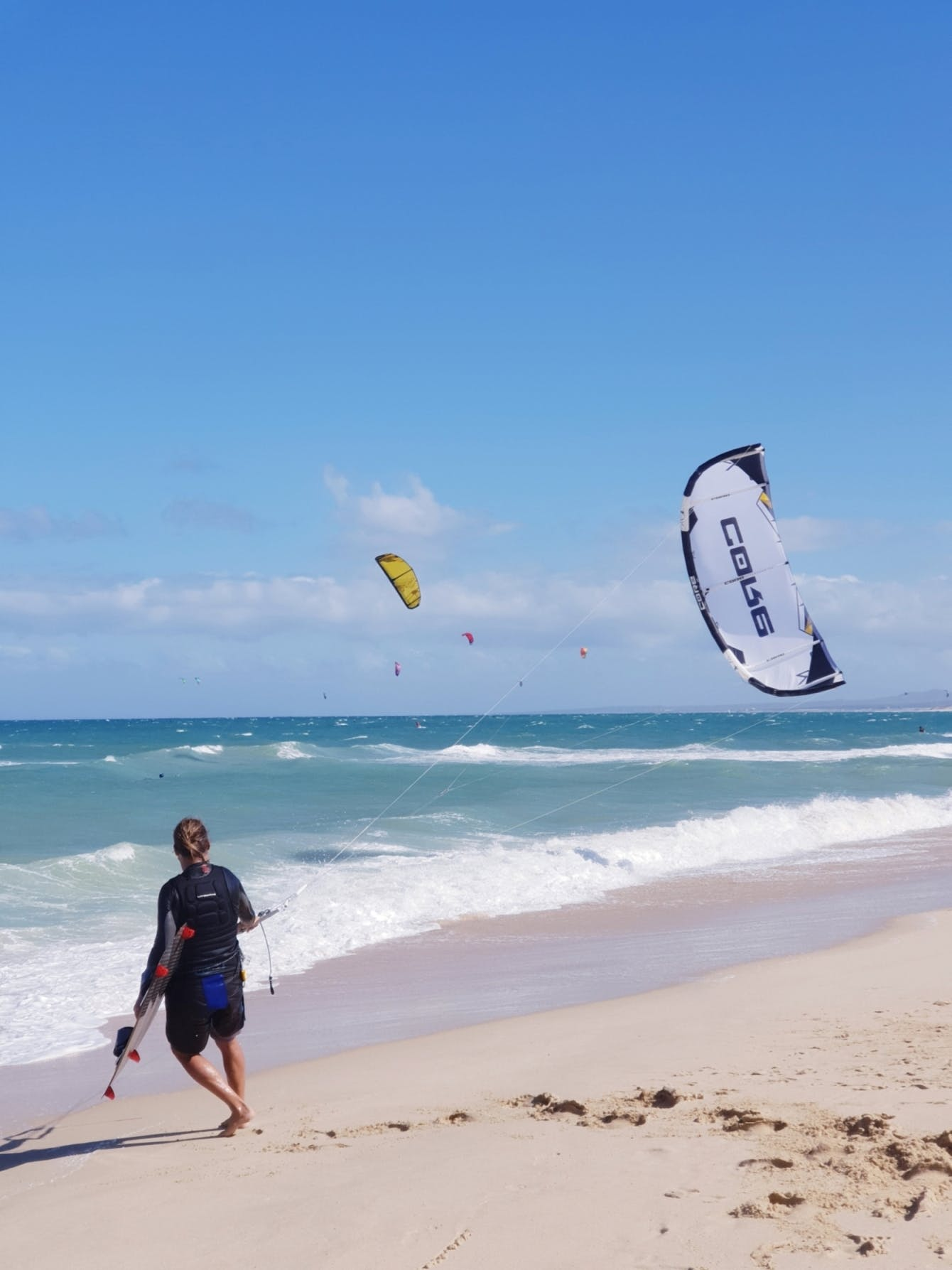 We have a kite gear rental - so if you are independent ride you can kiteboarding every day in La Ventana