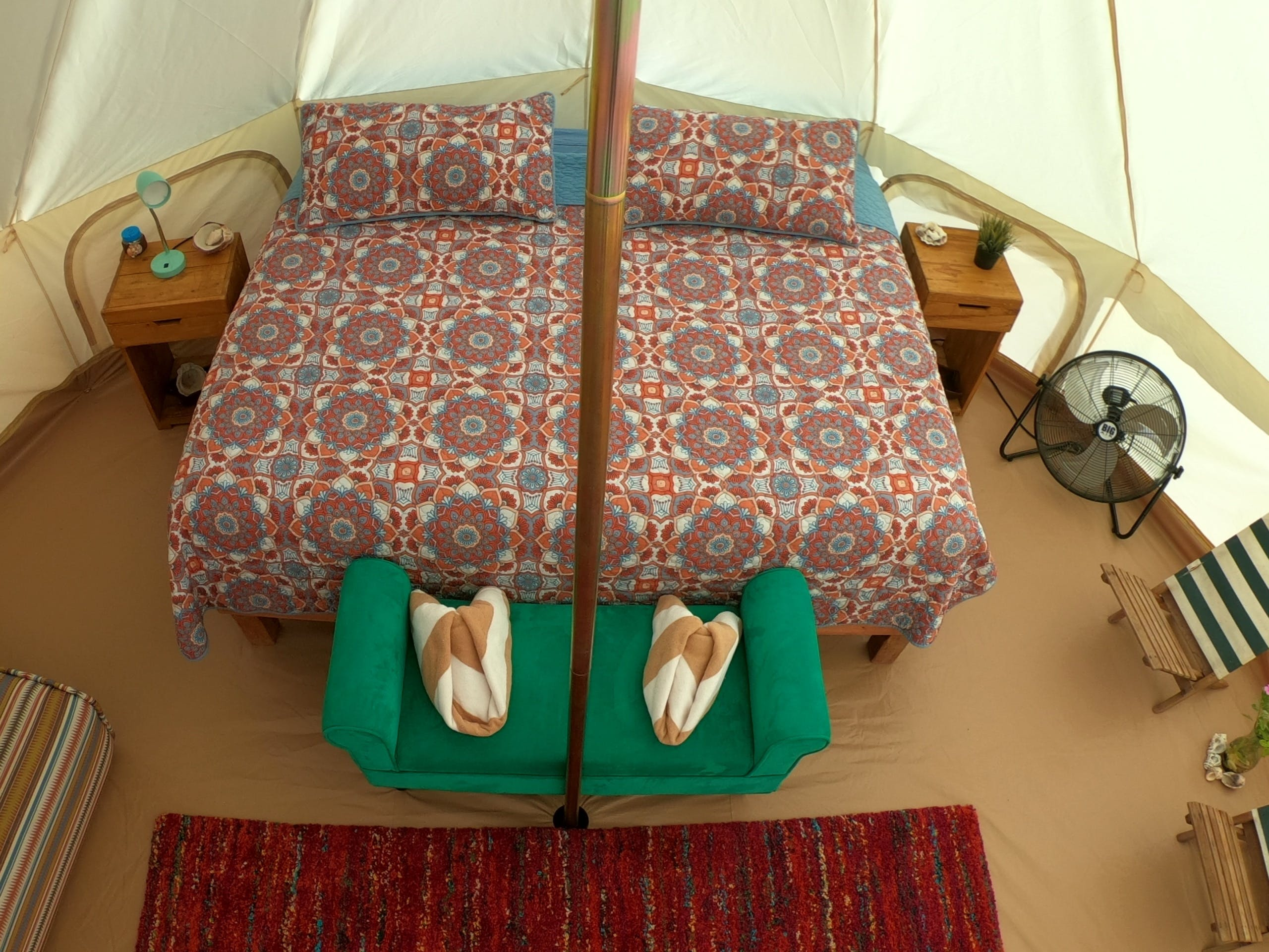 Glamping is a new style of camping. La Ventana accommodations in Baja!