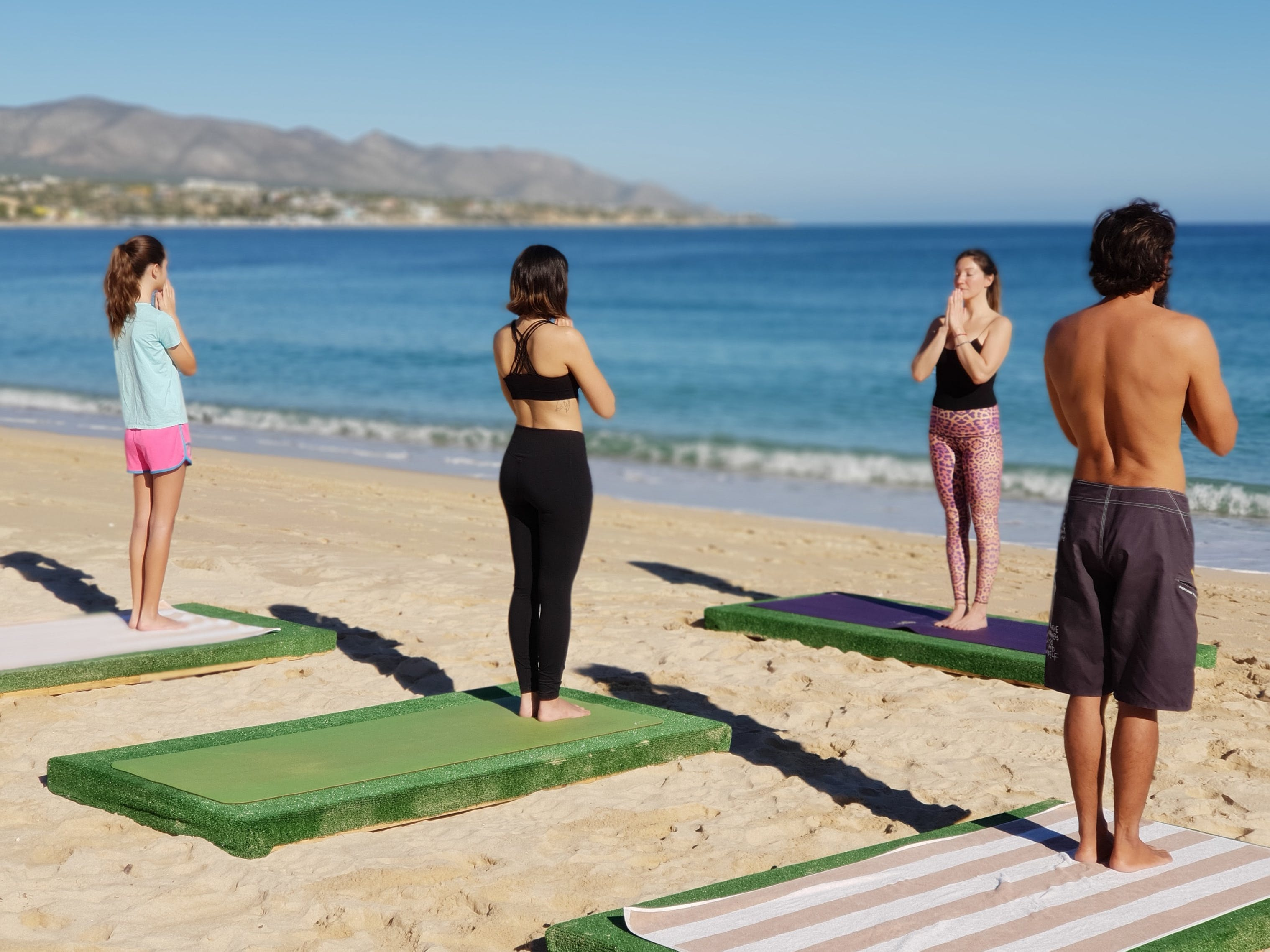 Yoga in Baja, every day in ChiloChil, La Ventana.