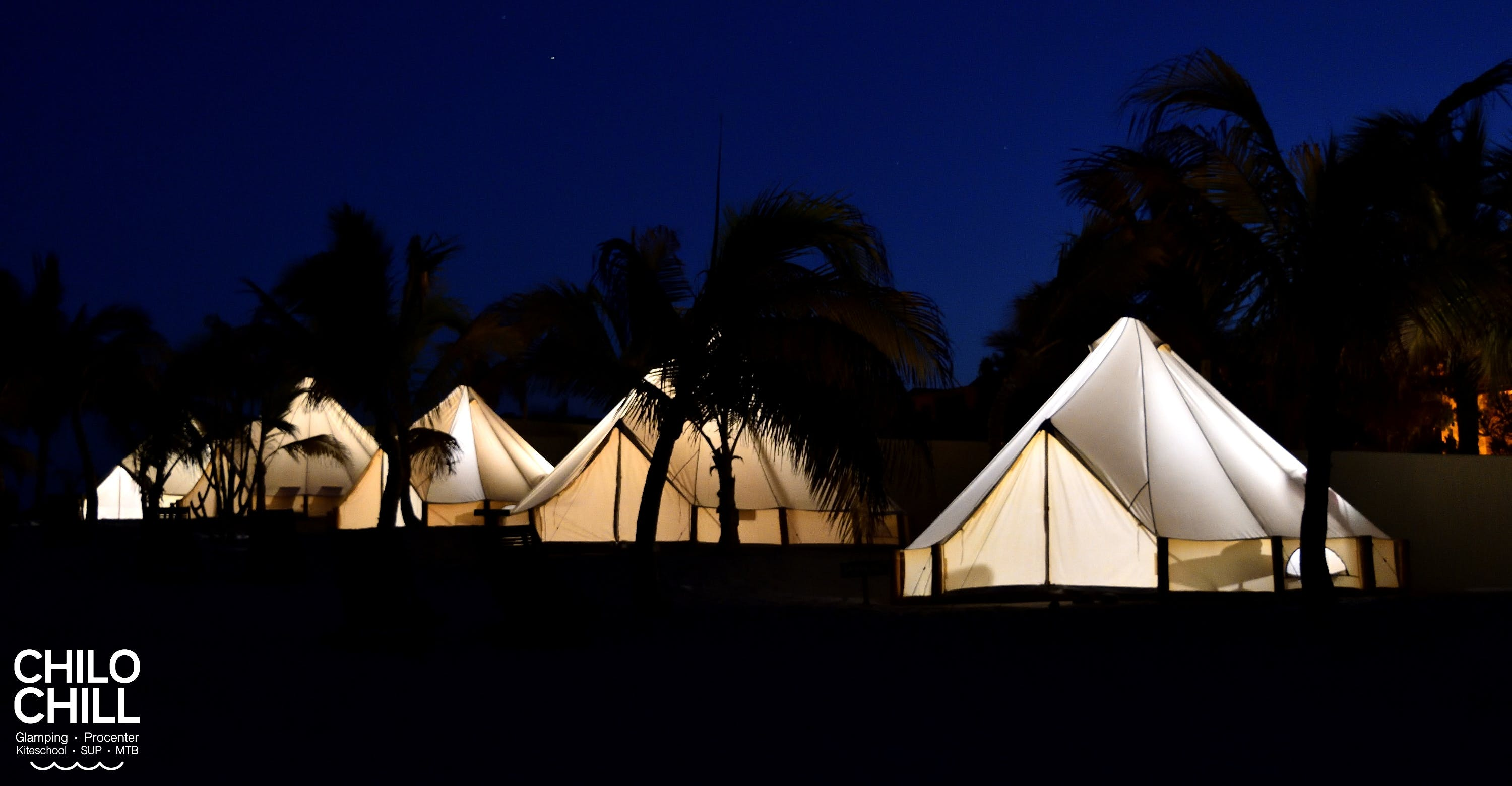 Nights in Baja California Sur look like that - it is luxury camping in ChiloChill