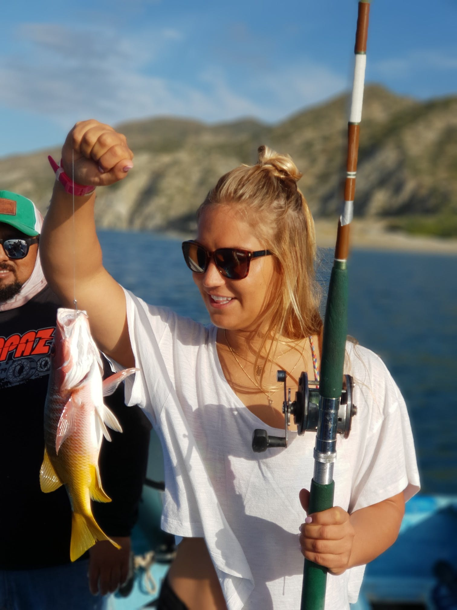 Fishing in La Ventana is something amazing! Take kayka from ChiloChill.