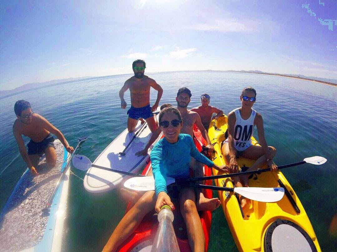 free kayaks gear in La Ventana - ChiloCHill for guests