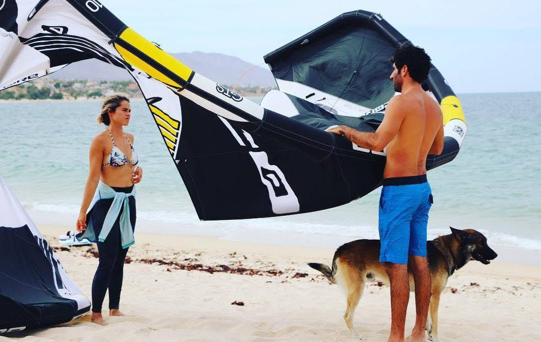 With Core Kites kitesurfing never has been easier - try our kite school in La Ventana - ChiloChill