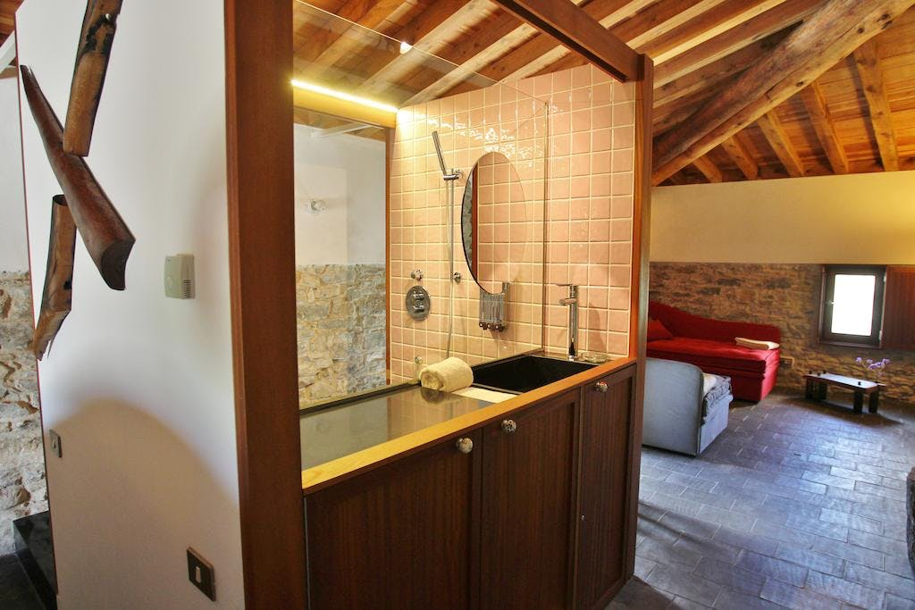 Family Suite Formas, shower