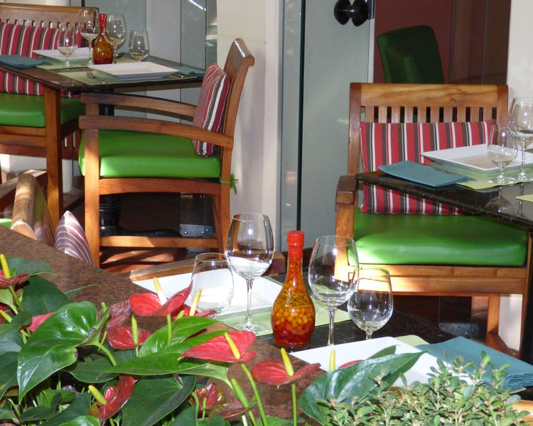 Hotel Casa do Amarelindo Pelô Bistrô Restaurant Garden Tables