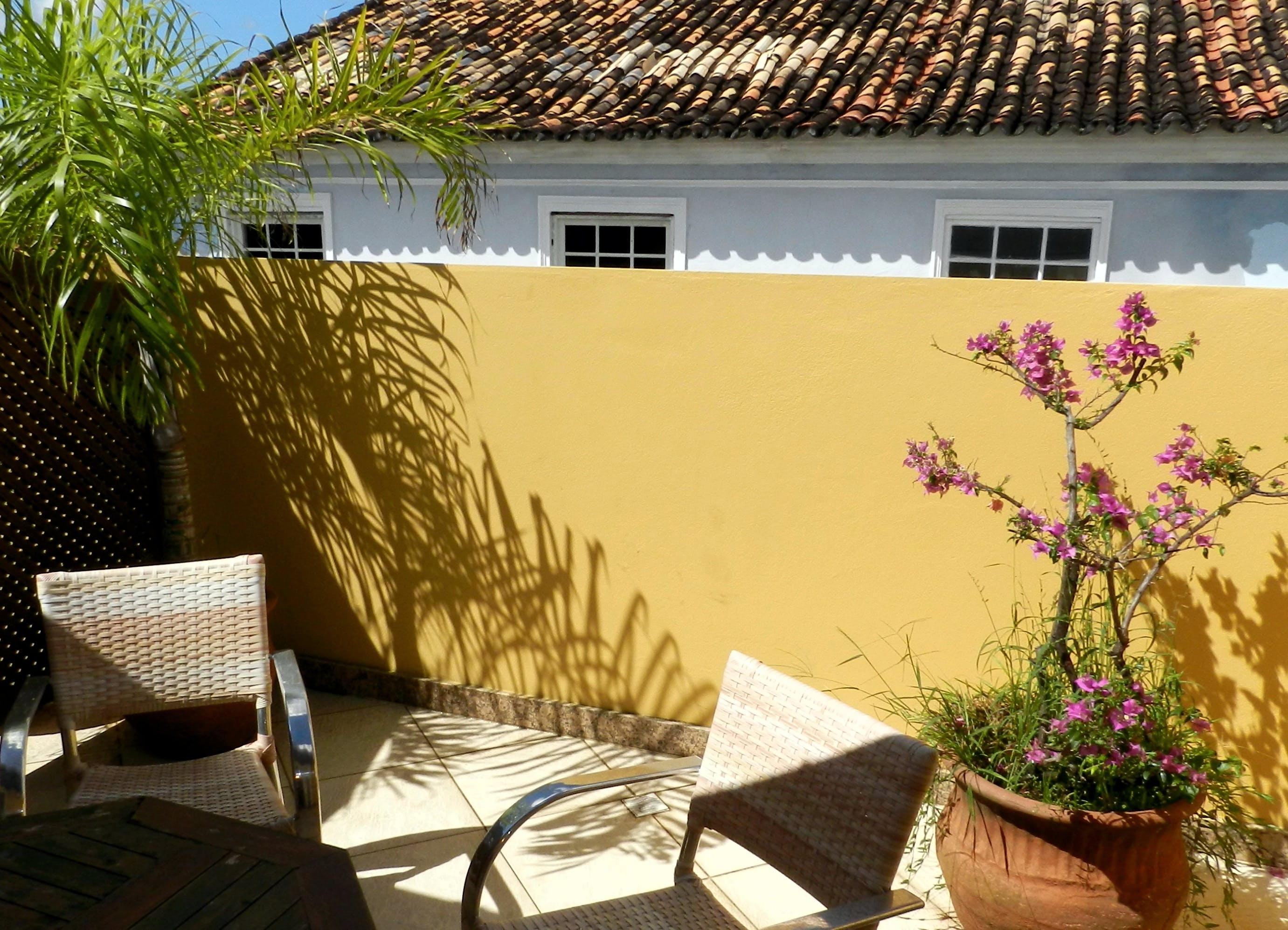 Hotel Casa do Amarelindo Superior Room Varanda and View