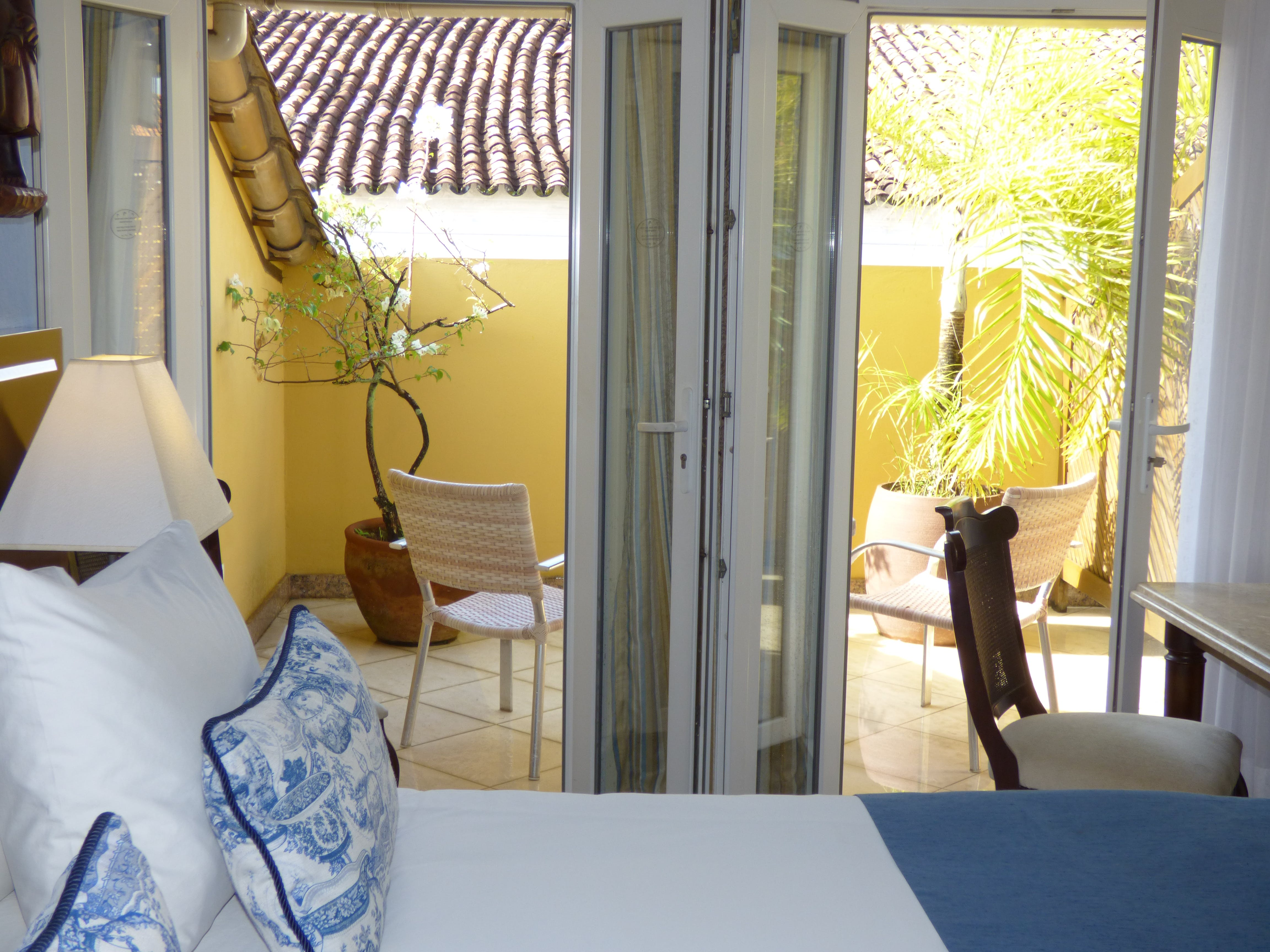 Hotel Casa Amarelindo Superior Room Decoration and Varanda