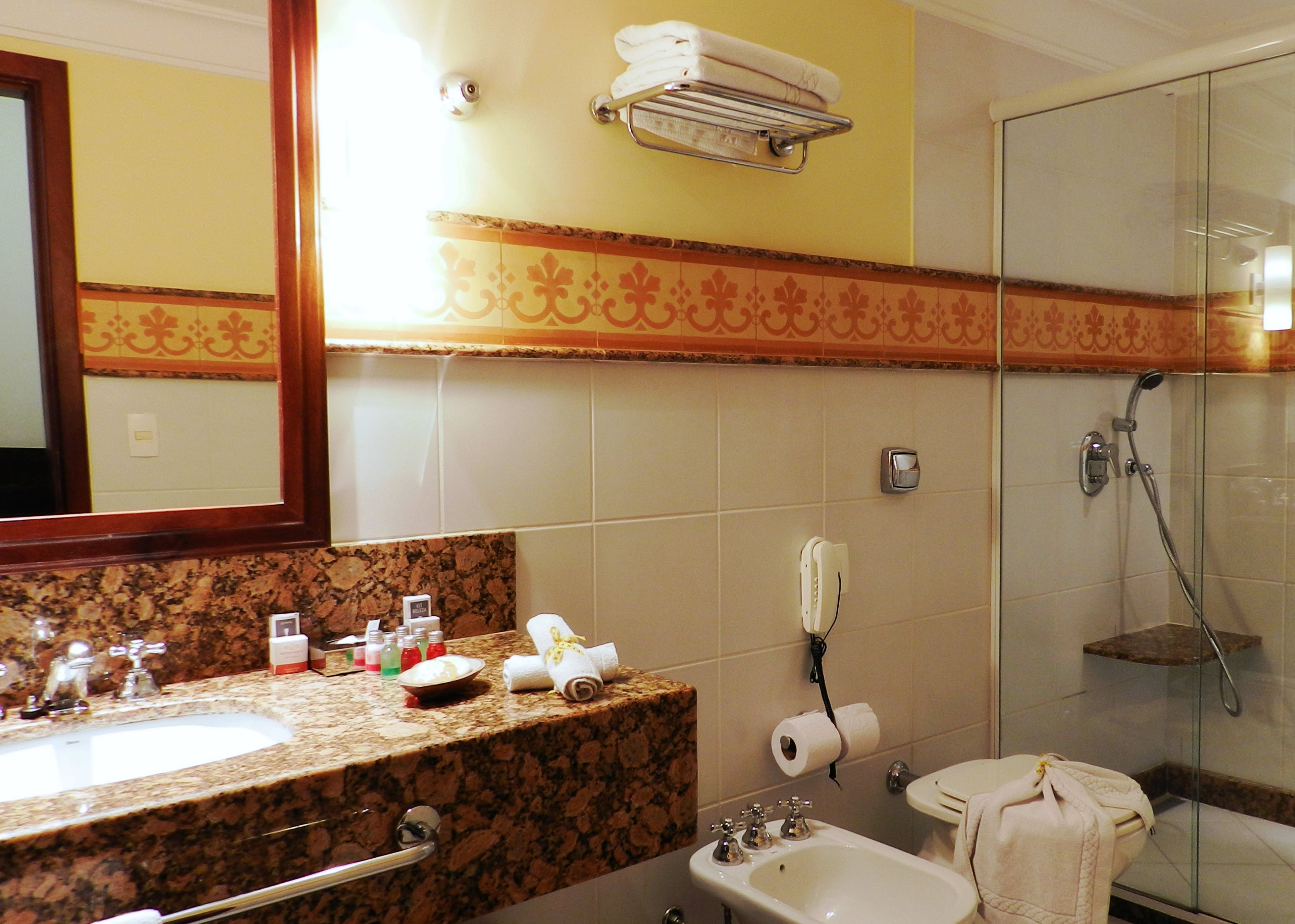Hotel Casa Amarelindo Superior Room bathroom Sink