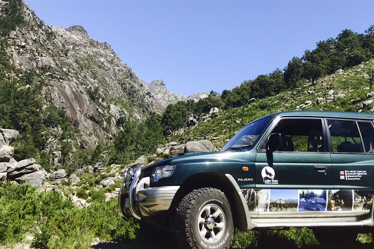 Jeep ride on Gerês Mountain