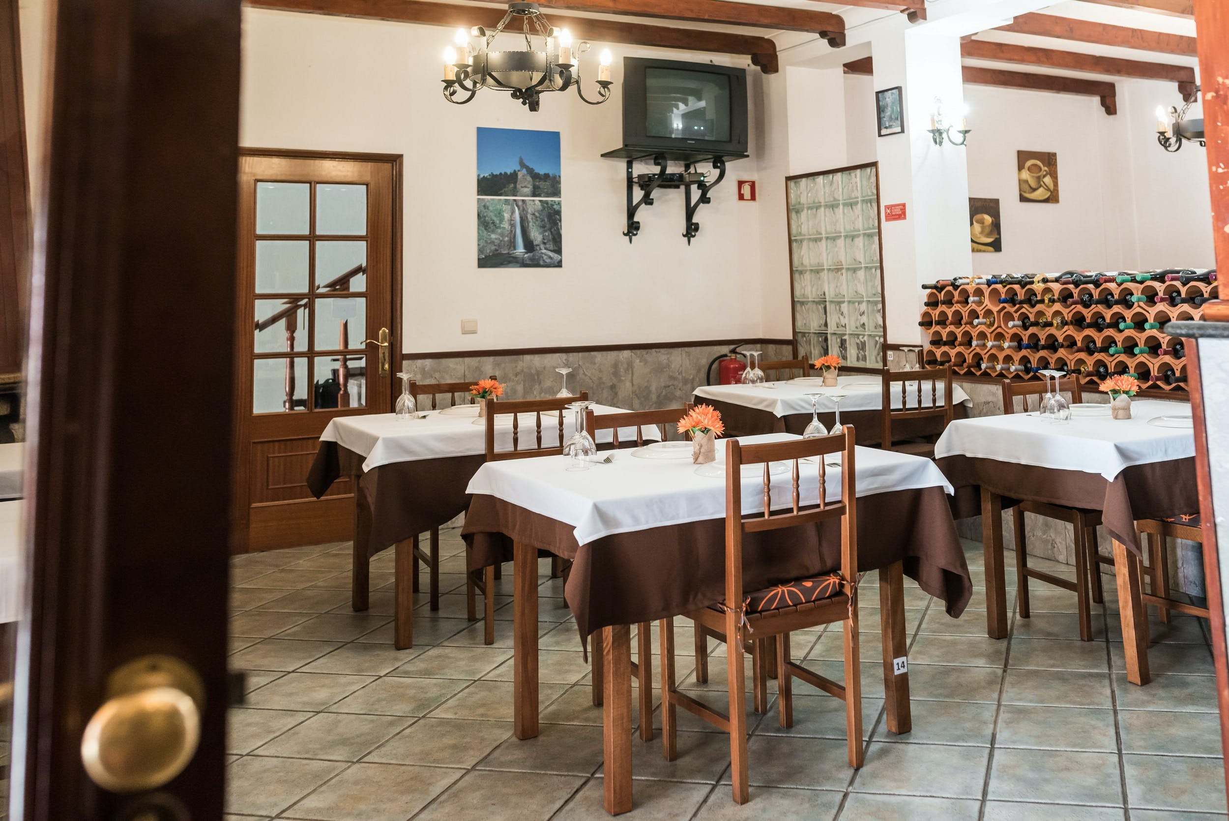 Galician Restaurant Room
