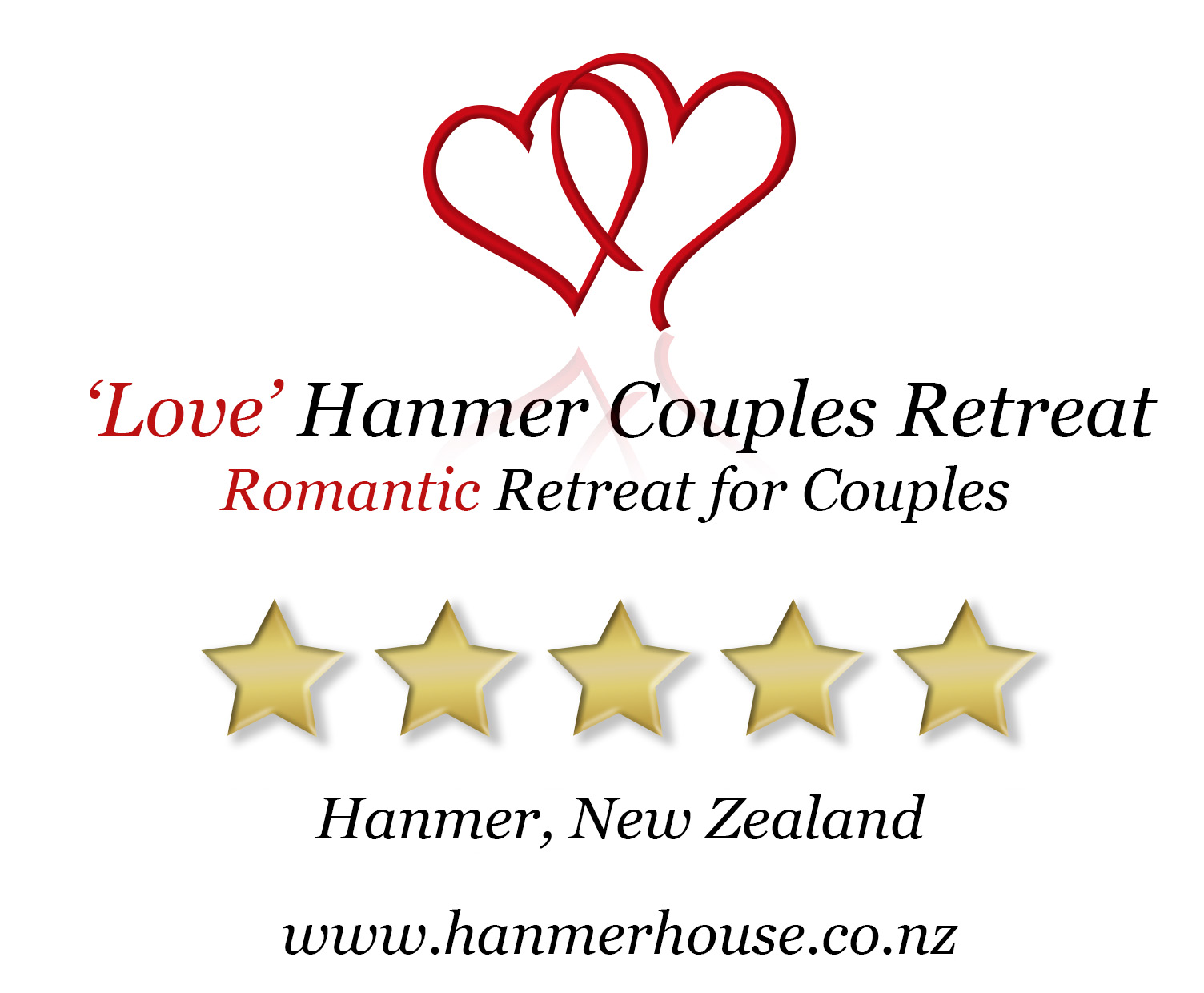 'Love' Hanmer Couples Retreat