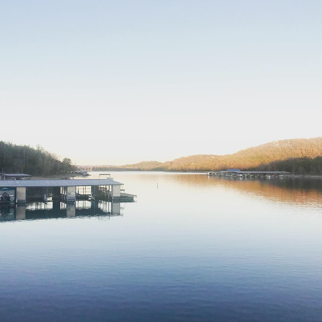 Table Rock Lake, calm waters