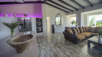 mimar villa altea kitchen and living room