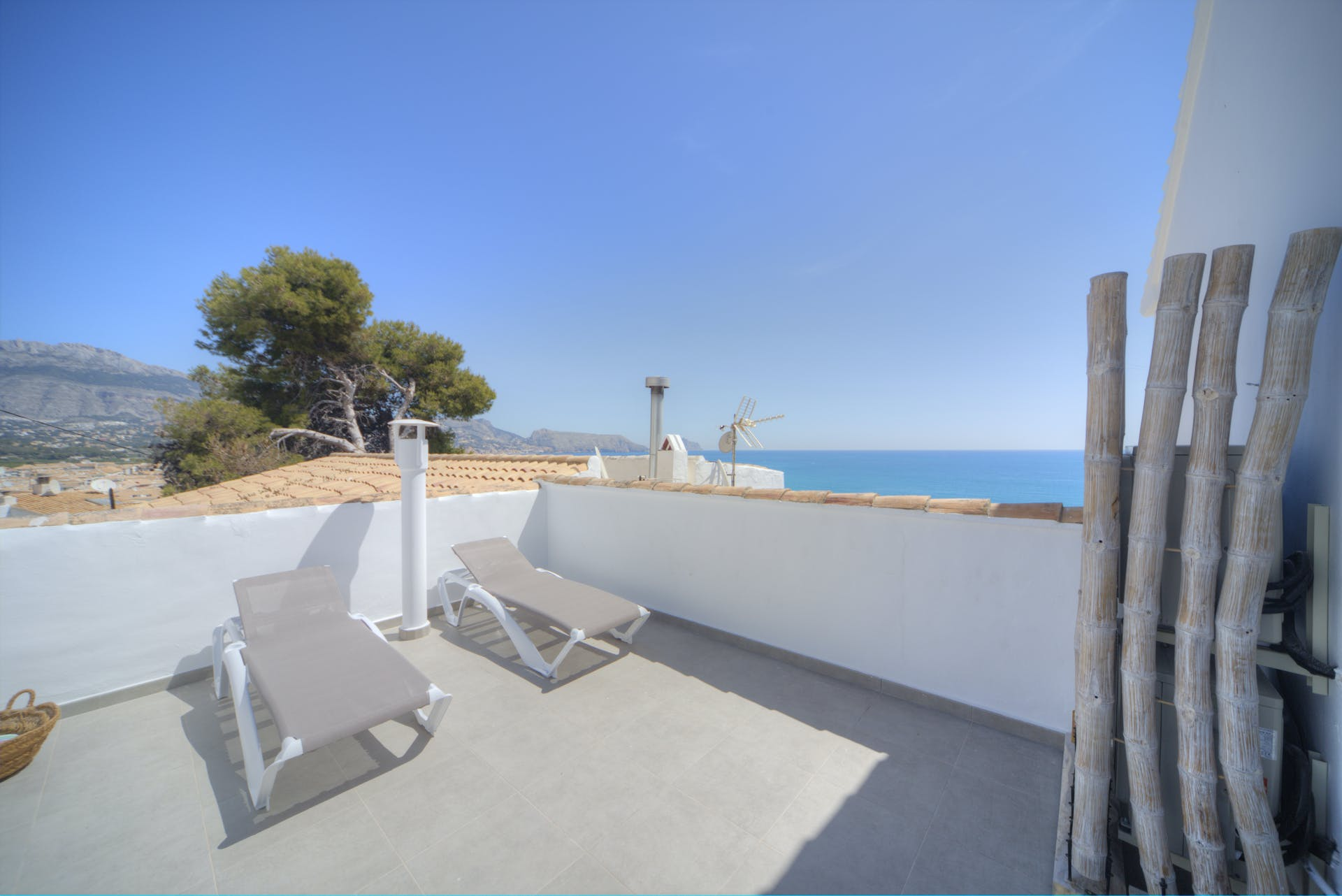 mimar urban altea sol roof terrace