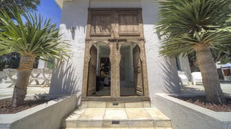 mimar villa altea main entrance door to the main house