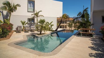 mora villas by mimar pool and terrace