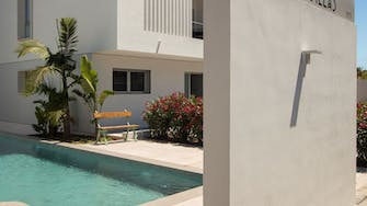 mora villas by mimar outside swimming pool