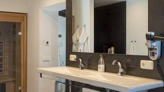 mimar villa altea master badroom bathroom and sauna