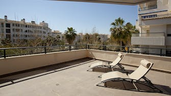 boulevard apartamentos by mimar terrace on 2 bedroom deluxe apartment