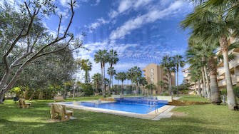 alborada golf by mimar outside pool and garden