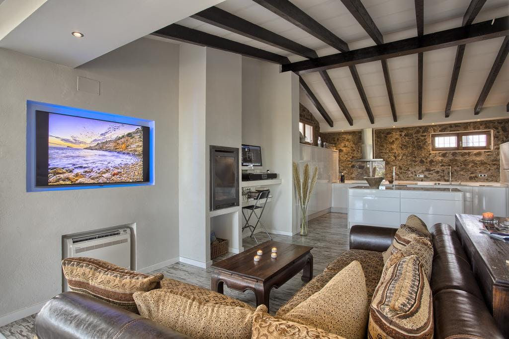 mimar villa altea living room