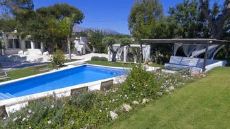 mimar villa altea outside garden pool
