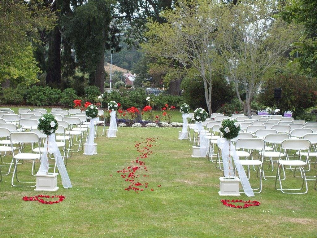 Dunedin Leisure Lodge Weddings - Garden