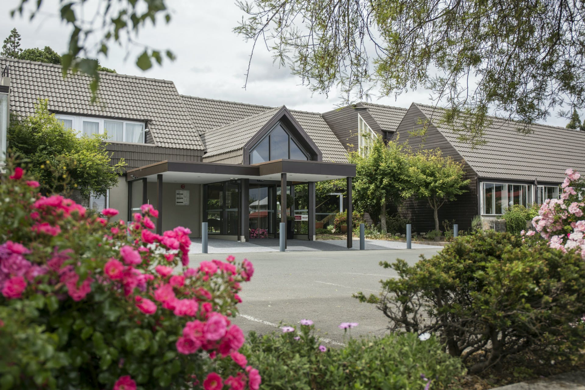Dunedin Leisure Lodge Entrance