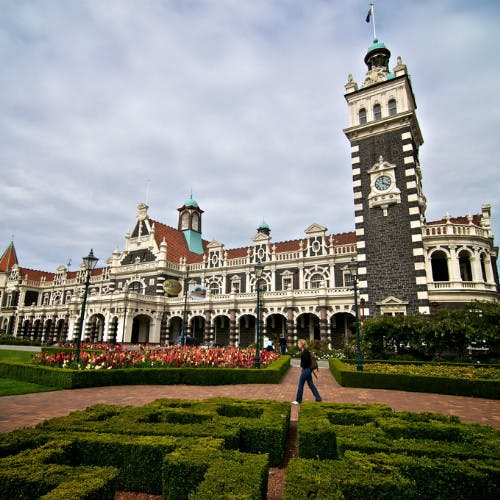 Dunedin Leisure Lodge Attractions - Dunedin Railway Station