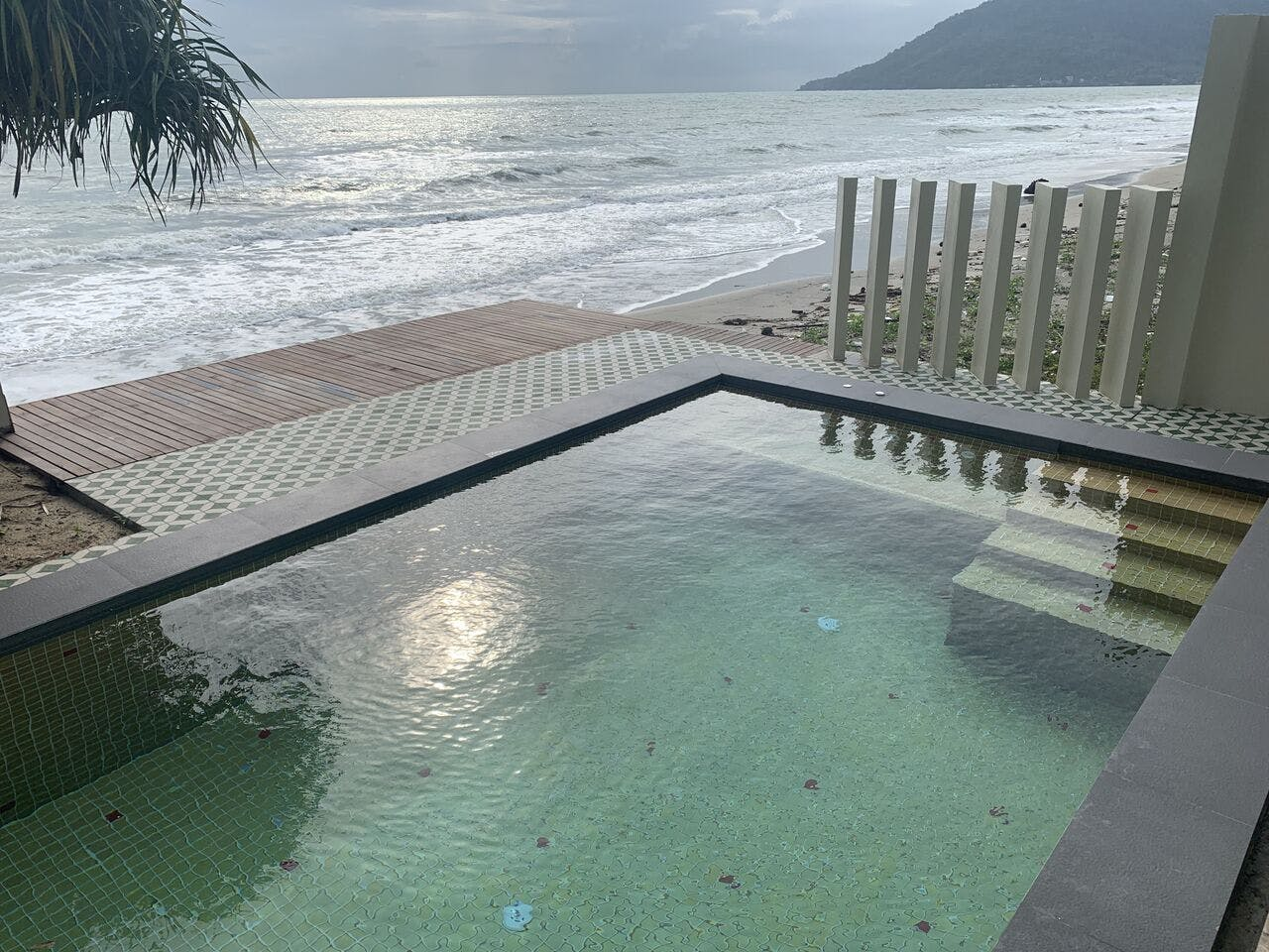 private pool, wis beach, khanom, nadan beach, villa, beach resort, beach front