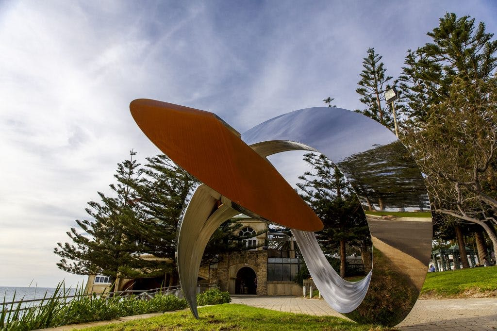 Located at Cottesloe Beach