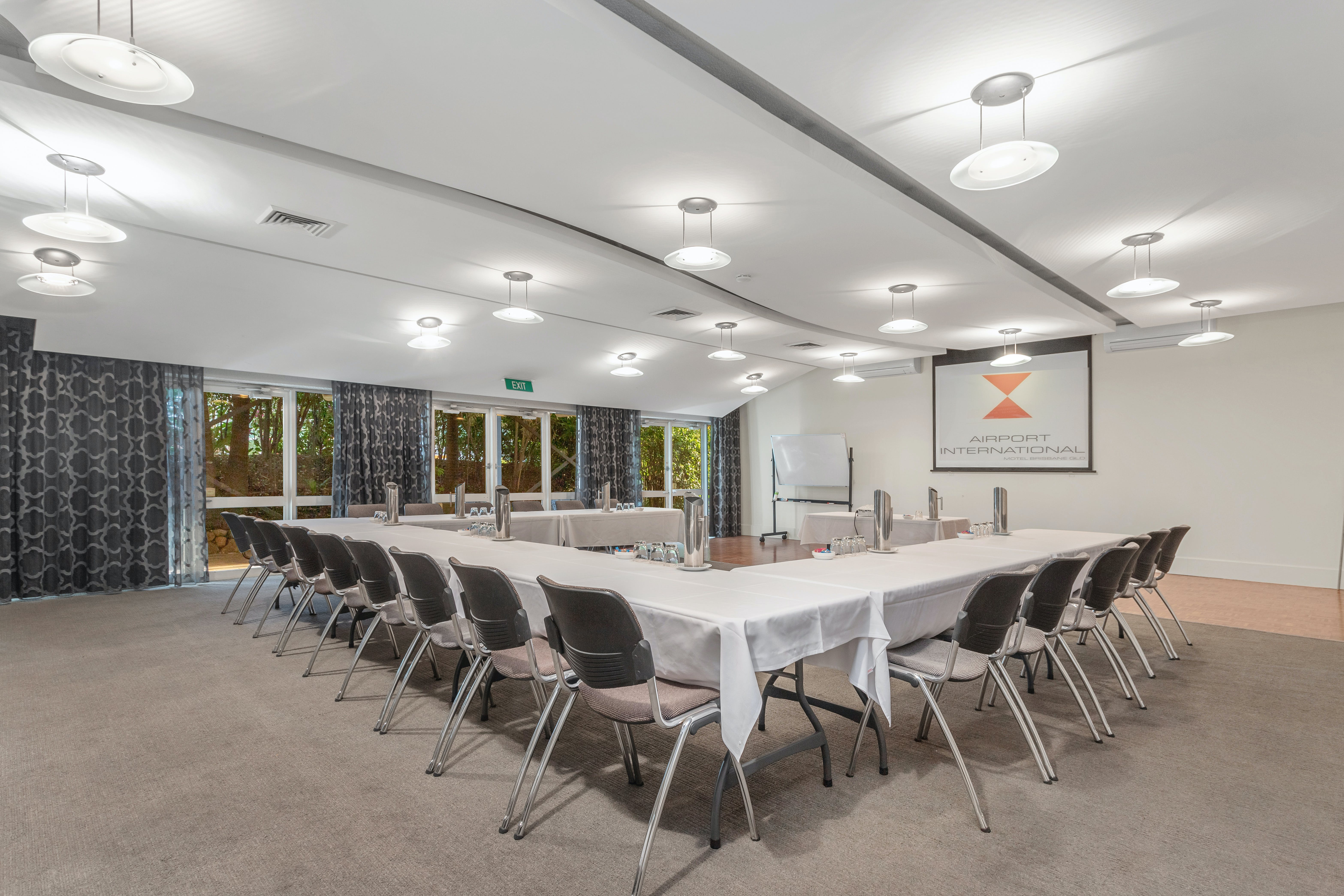 Conference rooms in Brisbane suitable for 60 guests