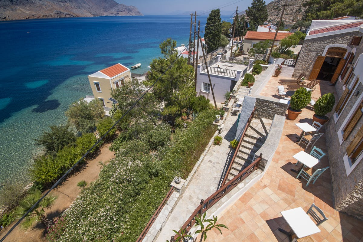 Emporio Symi Outside Areas
