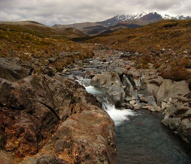 one of the many stunning views in Tongariro National Park