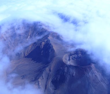Scenic flight over Mount Ngauruhoe