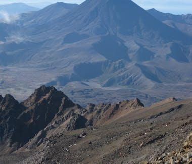 Summer views across the volcanic plateau