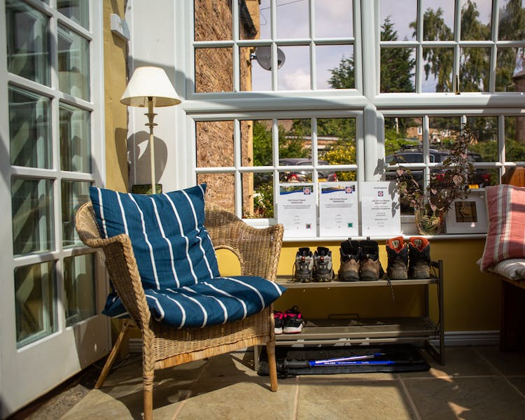 Sunroom in the Old Schoolhouse Bed and Breakfast in Haltwhistle, Northumberland
