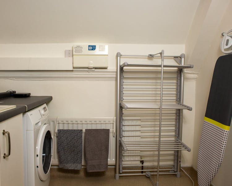 Washer dryer facilities for walkers and cyclists in the Old Schoolhouse Bed and Breakfast