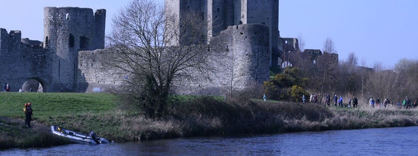 Trim Castle on a summers day