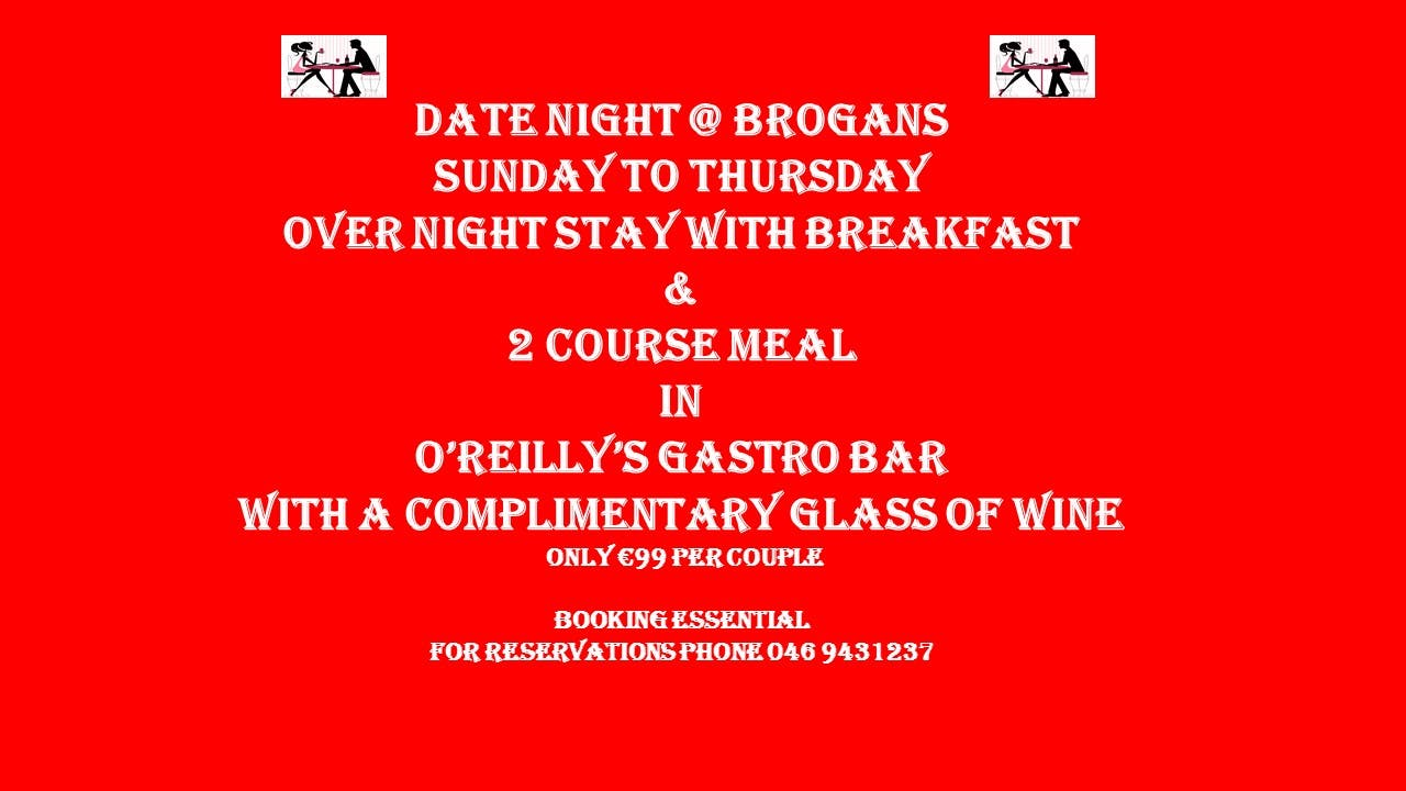 Date night special, #StayInTrim #TrimTourism #BoyneValley