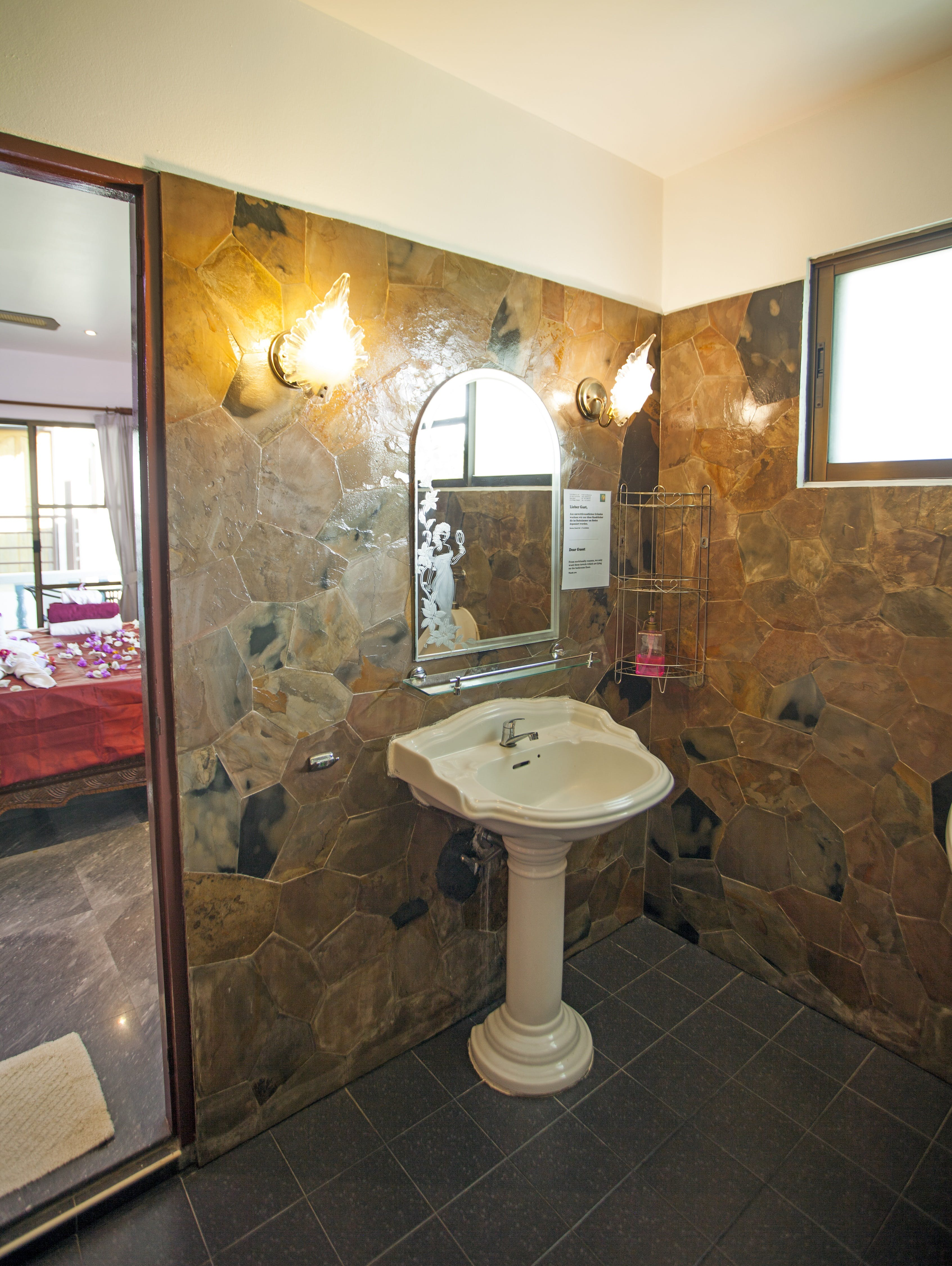Two Bedroom Suite Bathroom. Upper floor