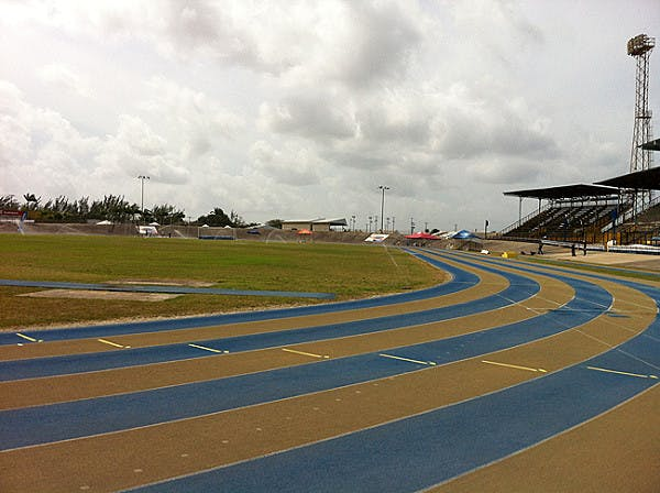 The National Stadium of Barbados