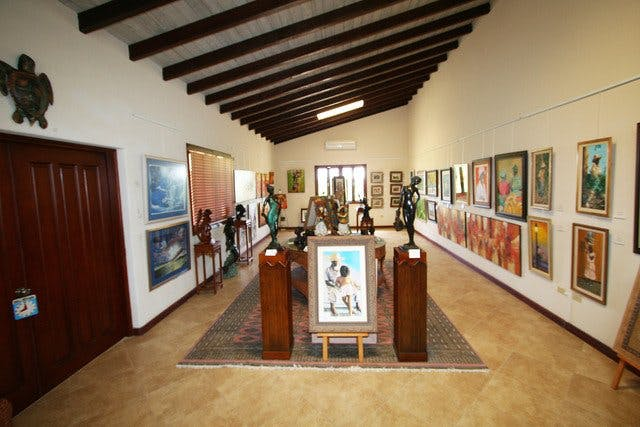 The Frangipani Art Gallery