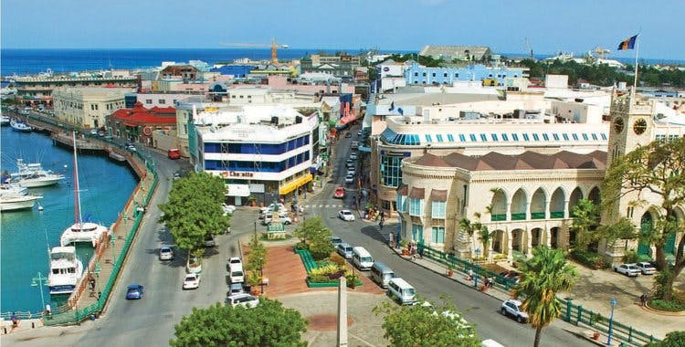 The city of Bridgetown