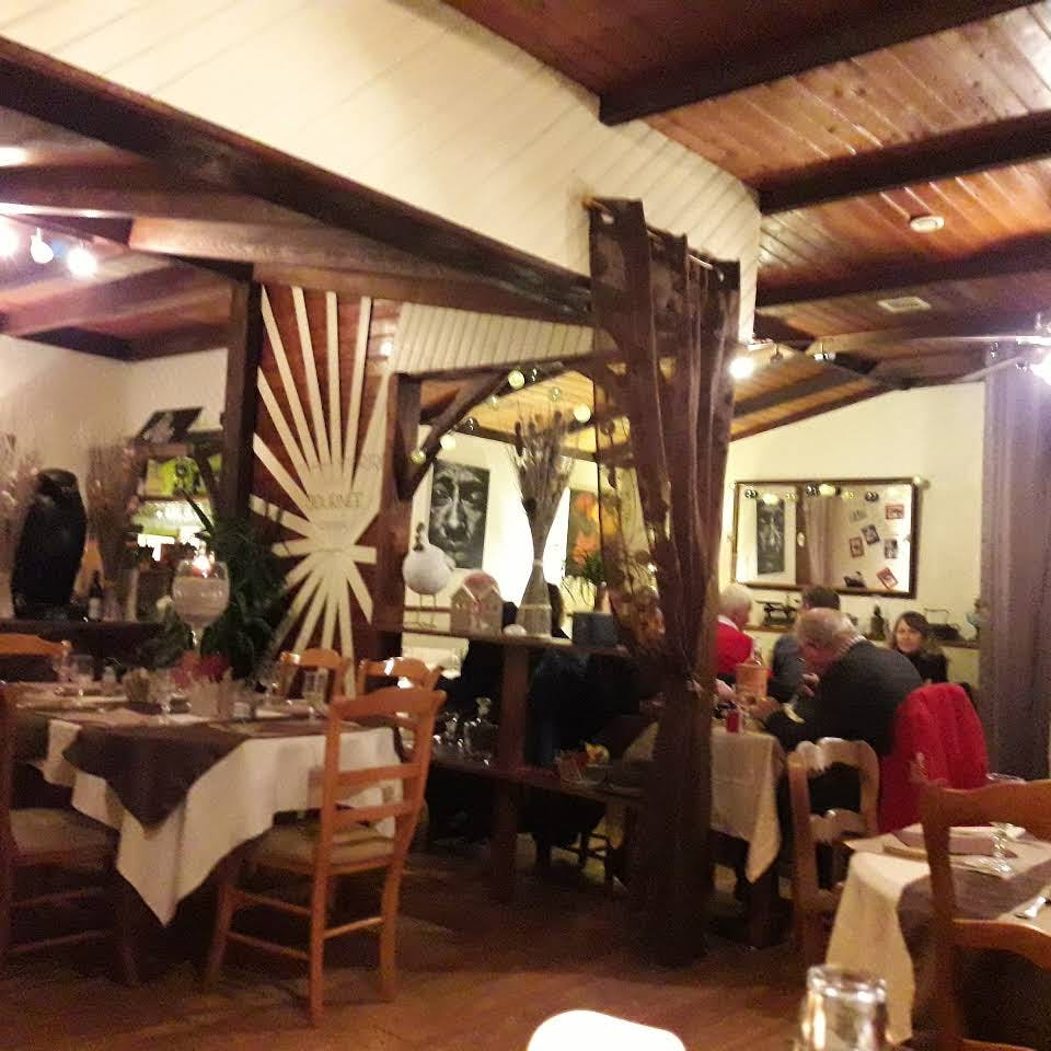 Restaurant Les Douves at the village of La Roche Posay